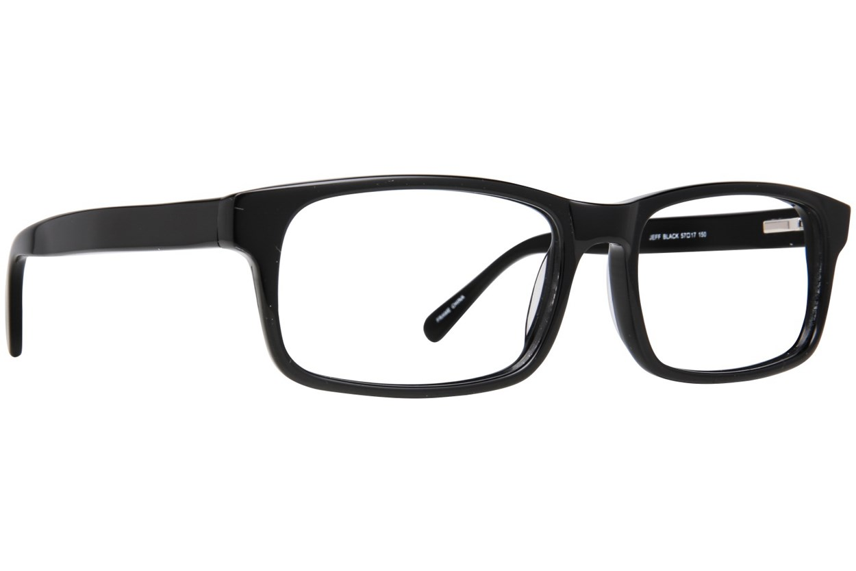 Maxx Eyewear Jeff Eyeglasses - Black