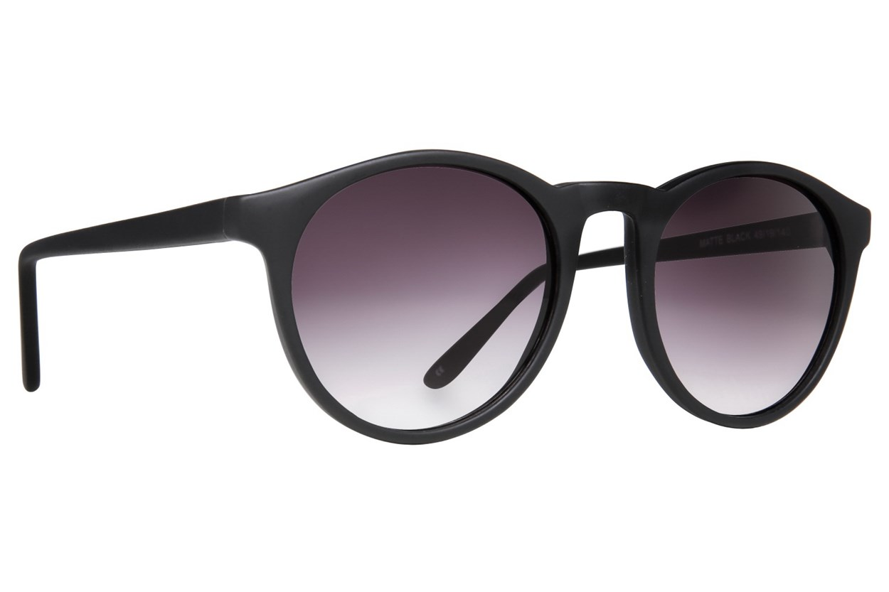 Lunettos Casey Black Sunglasses