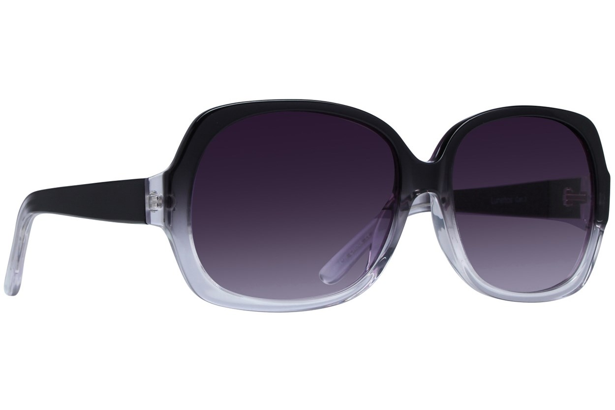 Lunettos Jean Black Sunglasses