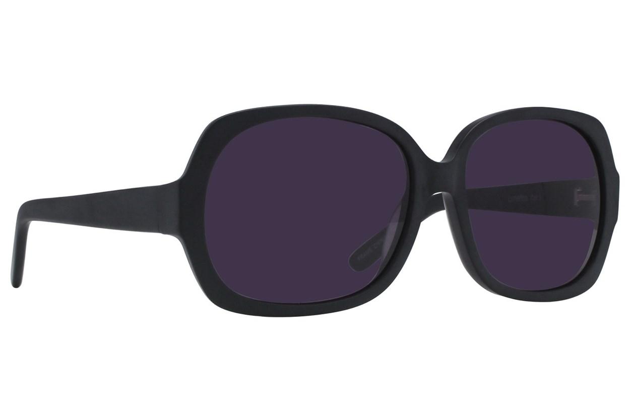 Lunettos Jean Black Sunglasses