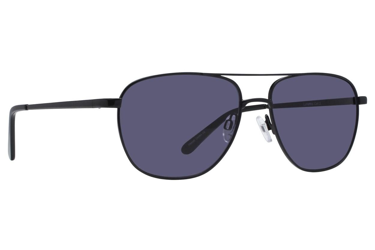 Lunettos Stanley Black Sunglasses