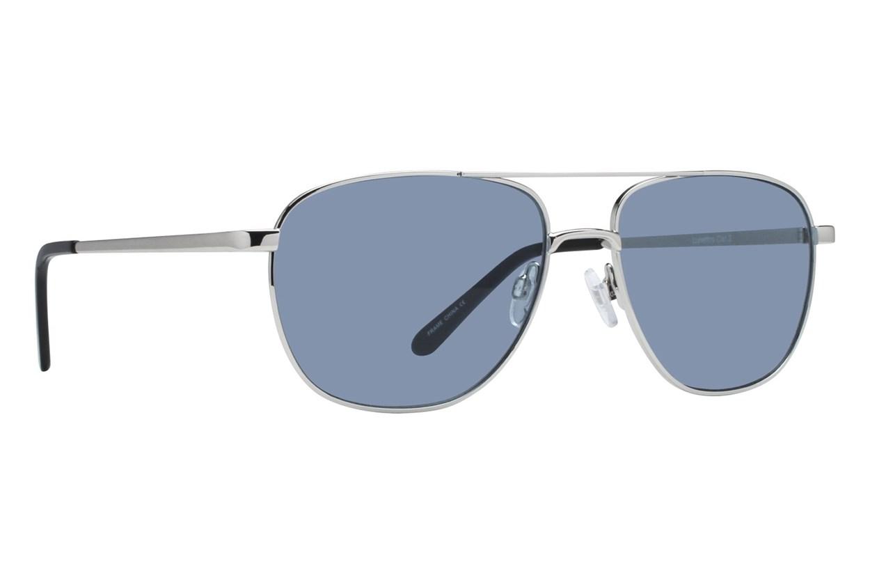 Lunettos Stanley Silver Sunglasses