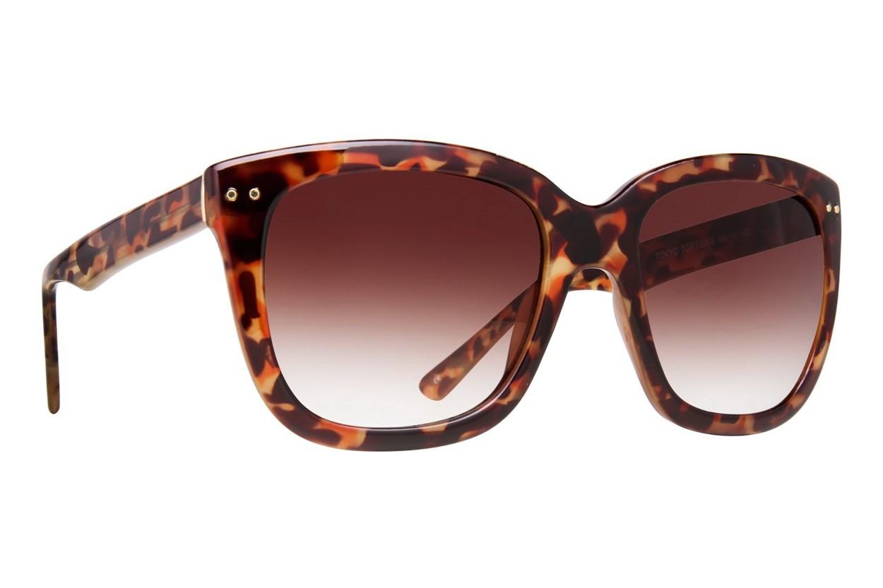 Lunettos Rose Tortoise Sunglasses