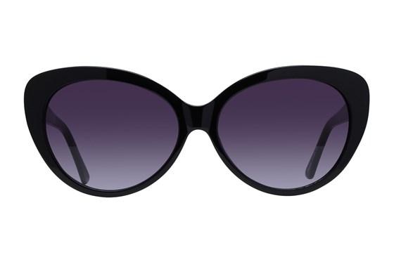 Lunettos Sara Black Sunglasses