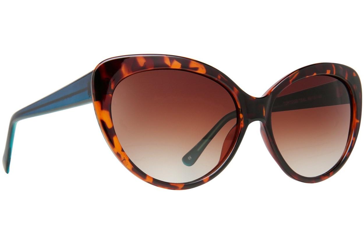 Lunettos Sara Tortoise Sunglasses