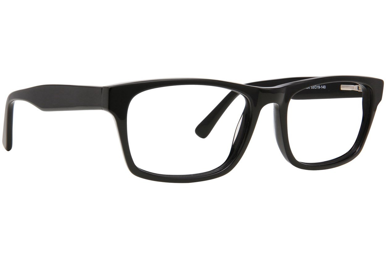Eight To Eighty Eyewear Dennis Black Glasses