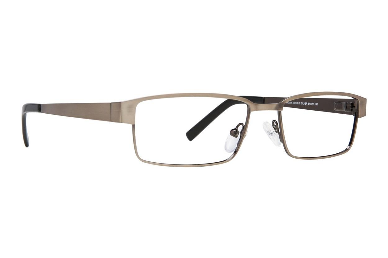 Eight To Eighty Eyewear Frank Silver Glasses
