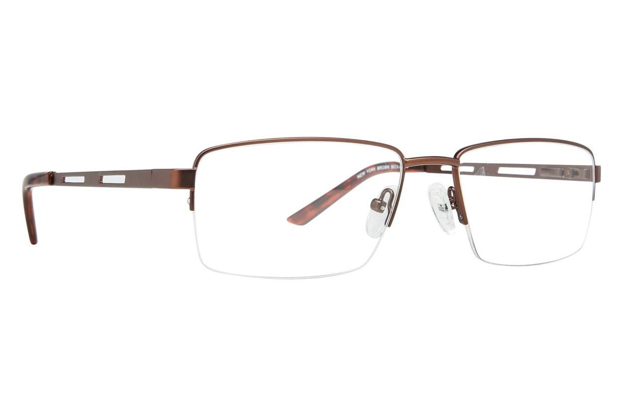 Eight To Eighty Eyewear New York Brown Glasses