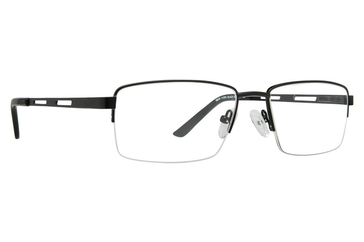Eight To Eighty Eyewear New York Black Glasses