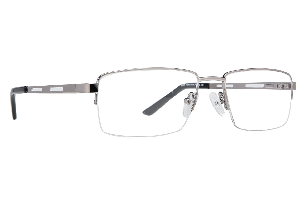 Eight To Eighty Eyewear New York Gray Glasses