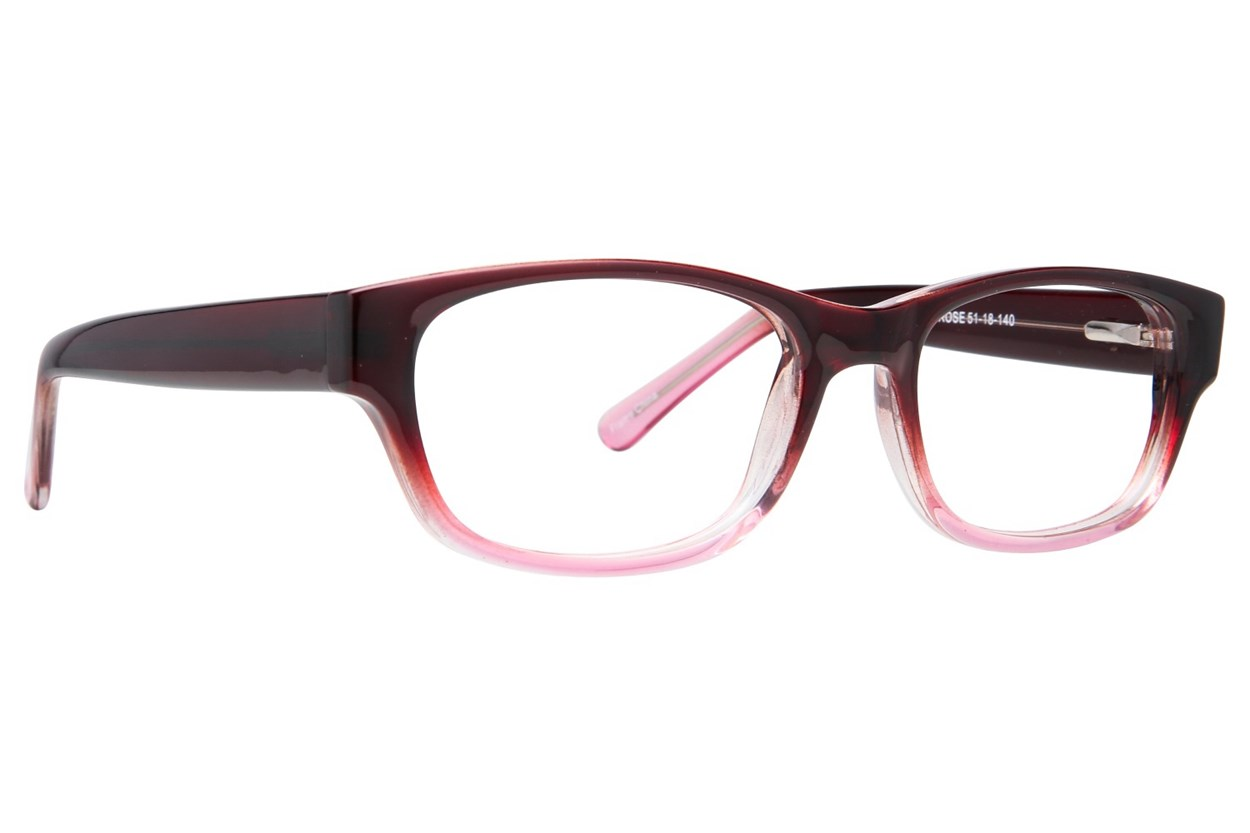 Affordable Designs Brooklyn Brown Glasses