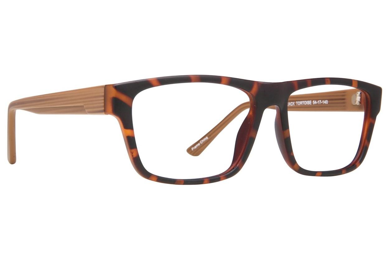 Affordable Designs Jack Tortoise Glasses