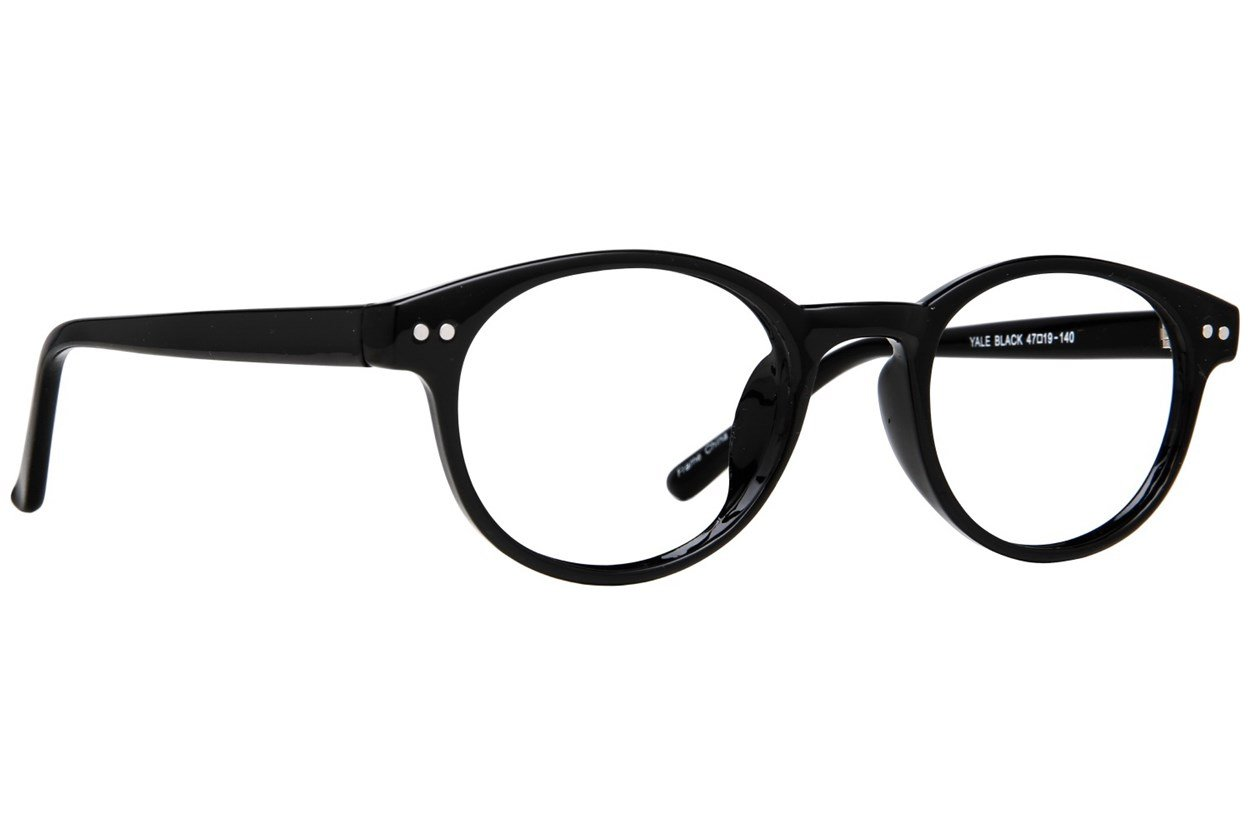 Affordable Designs Yale Black Glasses