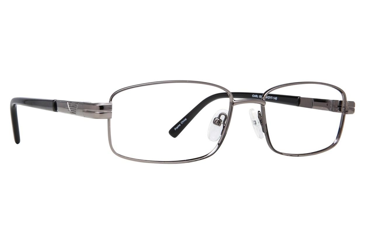 Affordable Designs Carl Gray Glasses