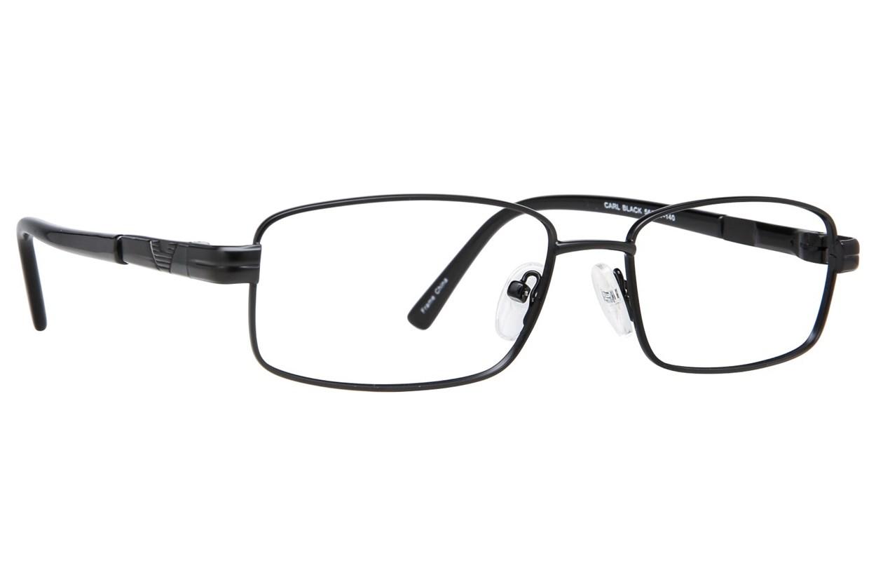 Affordable Designs Carl Black Glasses