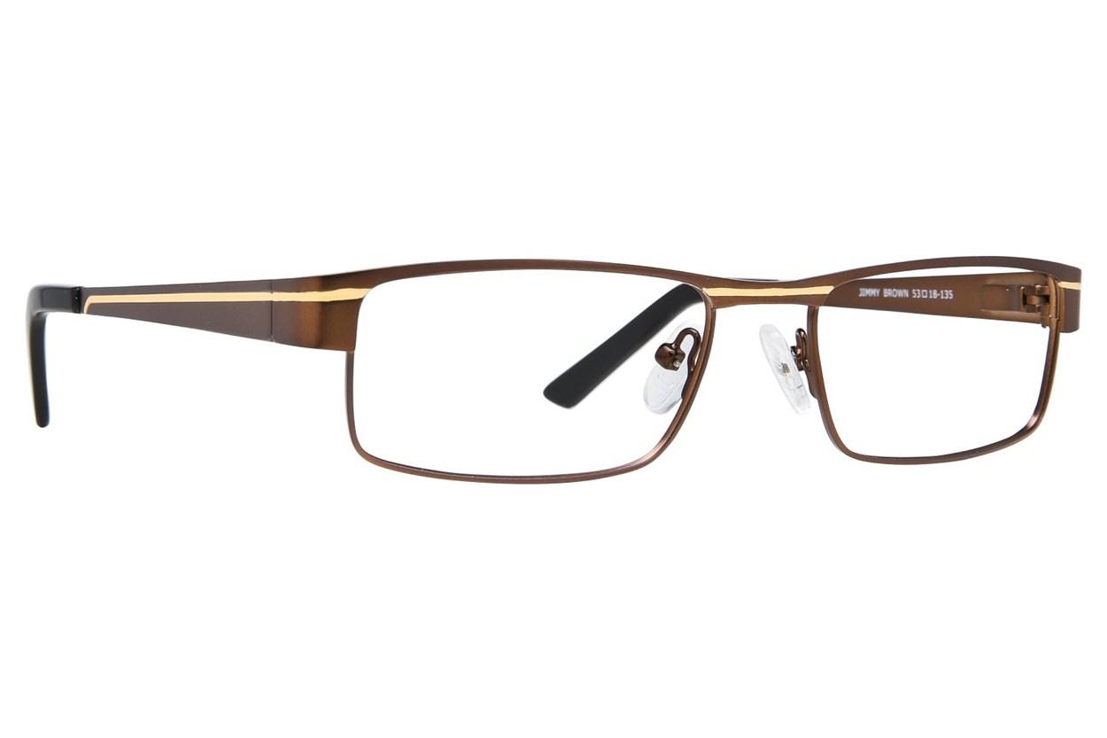 Eight To Eighty Eyewear Jimmy Brown Glasses