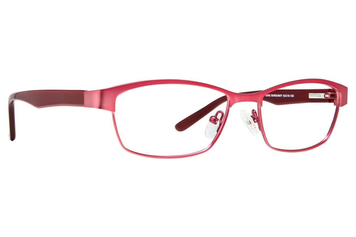 Eight To Eighty Eyewear June Red Glasses