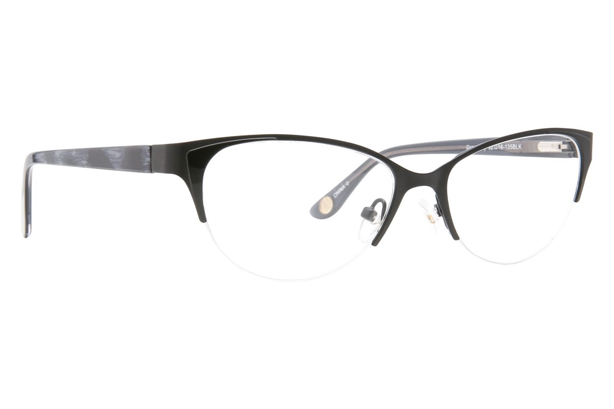 Corinne McCormack Gramercy Black Glasses