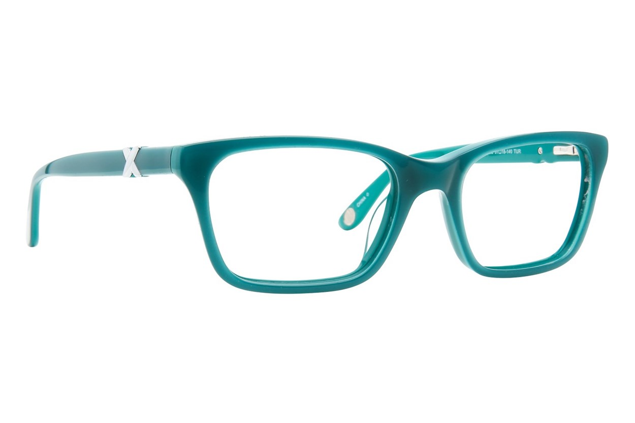 Corinne McCormack Park Ave Turquoise Glasses