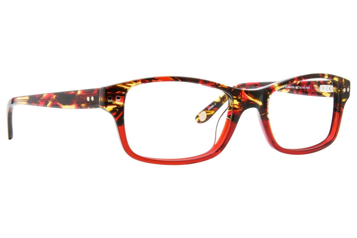 Corinne McCormack Rivington Red Glasses