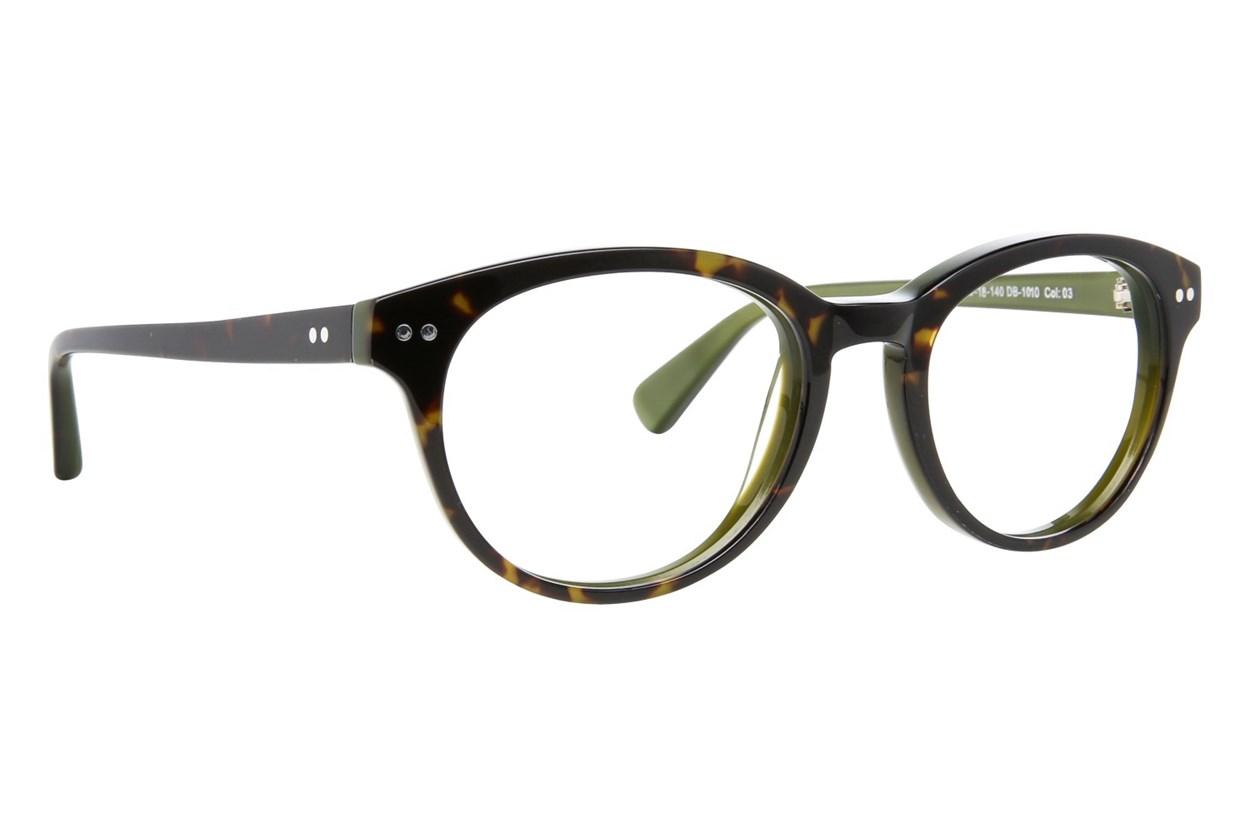 Blakened DB1010 Tortoise Glasses