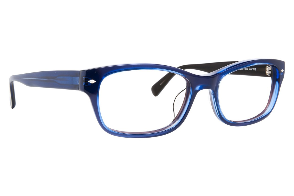 Blakened DB1017 Blue Glasses
