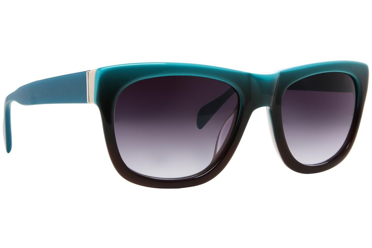 Moda 109 Turquoise Sunglasses
