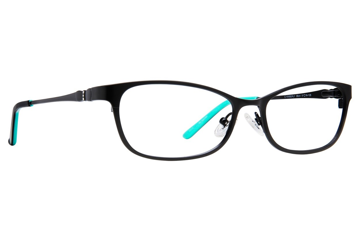 Candie's Kimberly Black Glasses