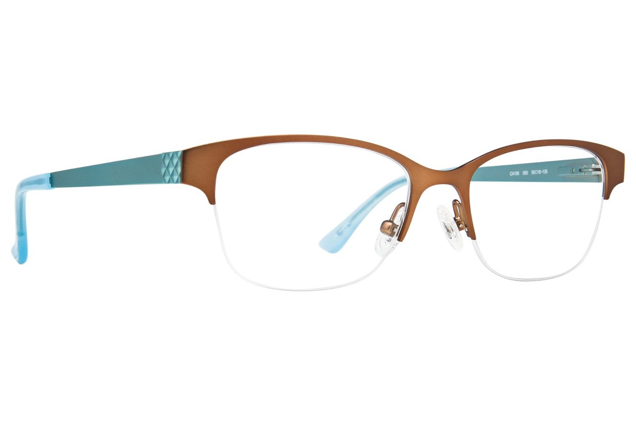 Candie's CA106 Brown Glasses