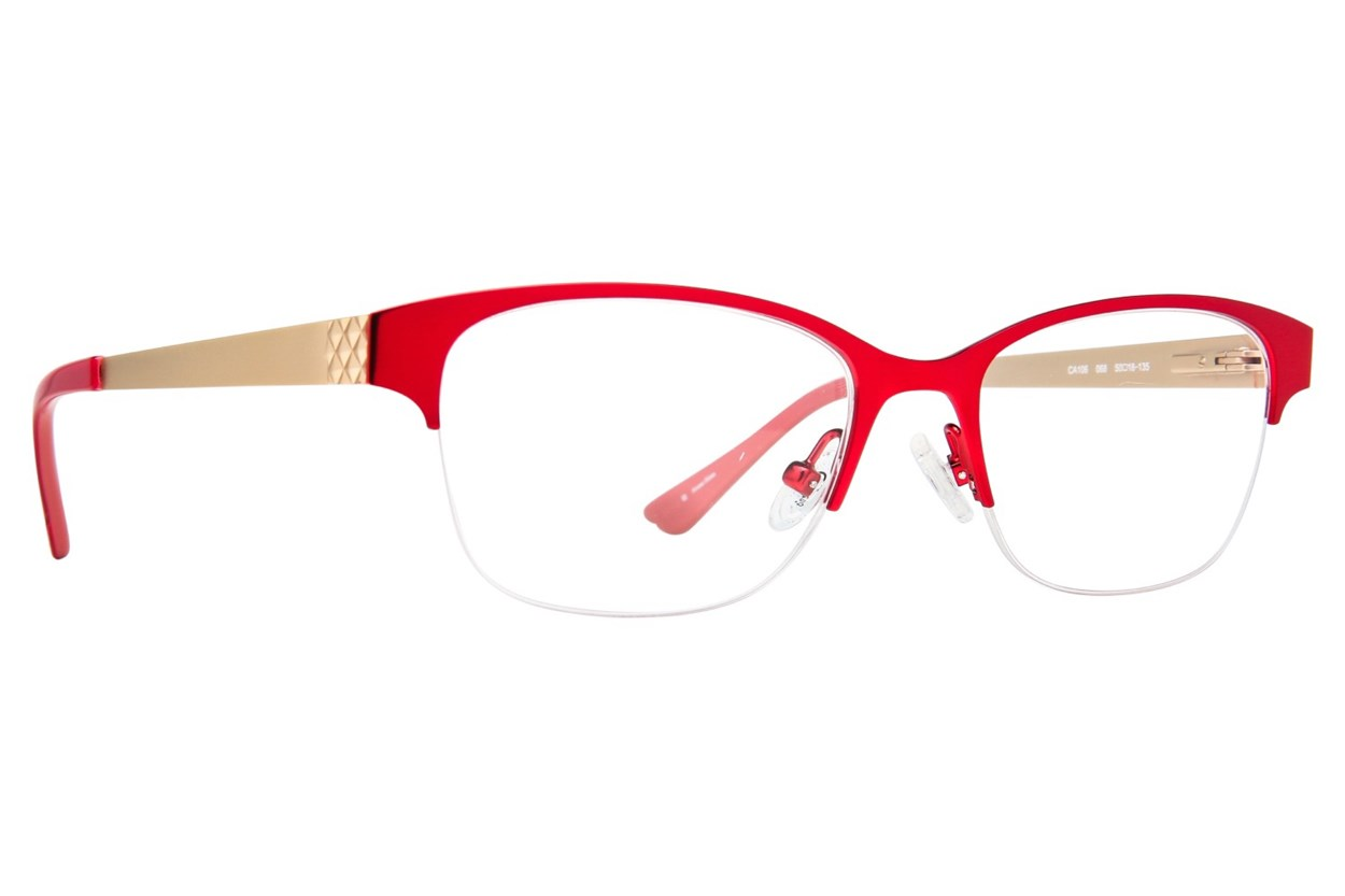 Candie's CA106 Red Glasses