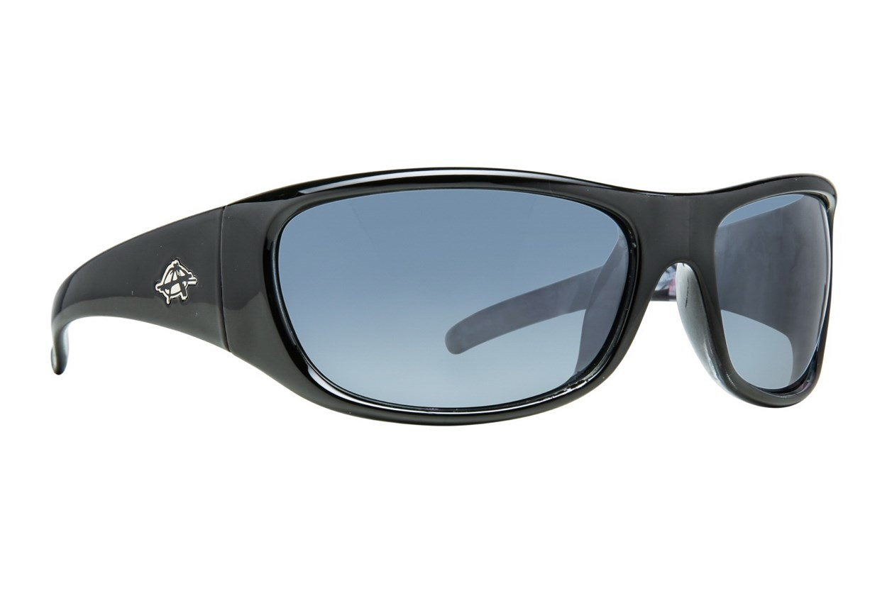 Anarchy Bruiser Polarized Black Sunglasses