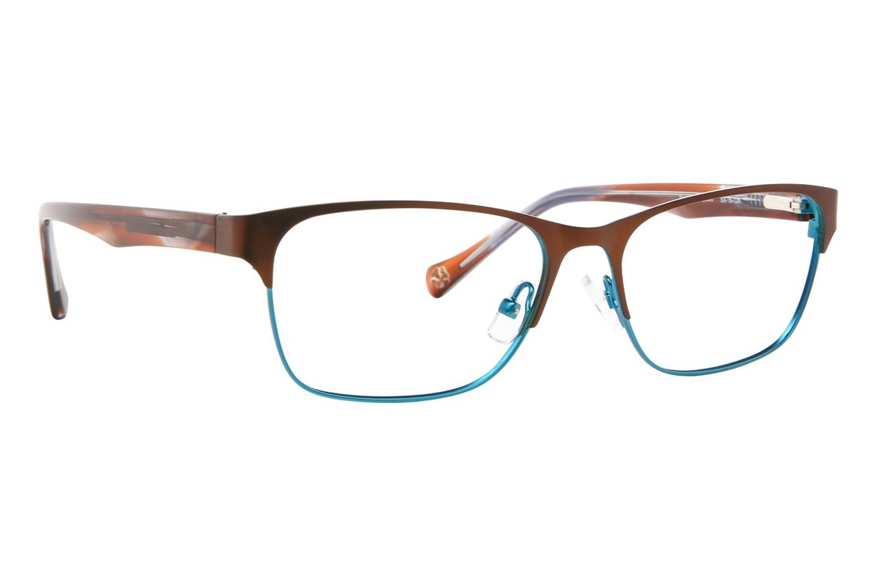 Lucky D101 Brown Glasses