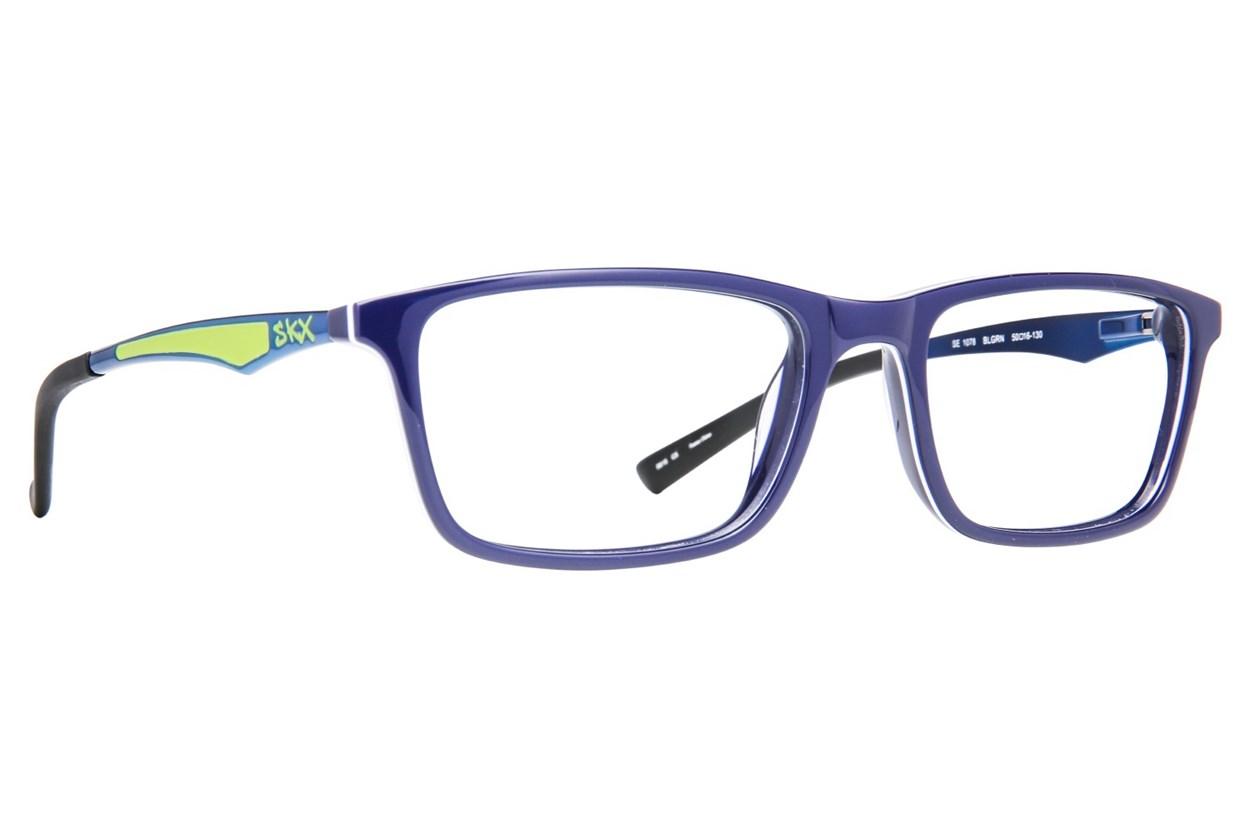 Skechers SE 1078 Blue Glasses