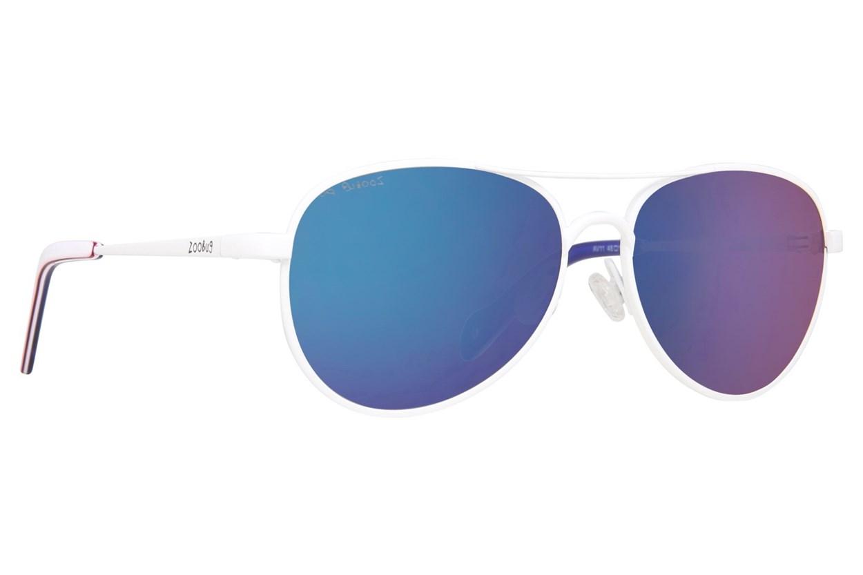 Zoobug Av (Age 2-5) White Sunglasses