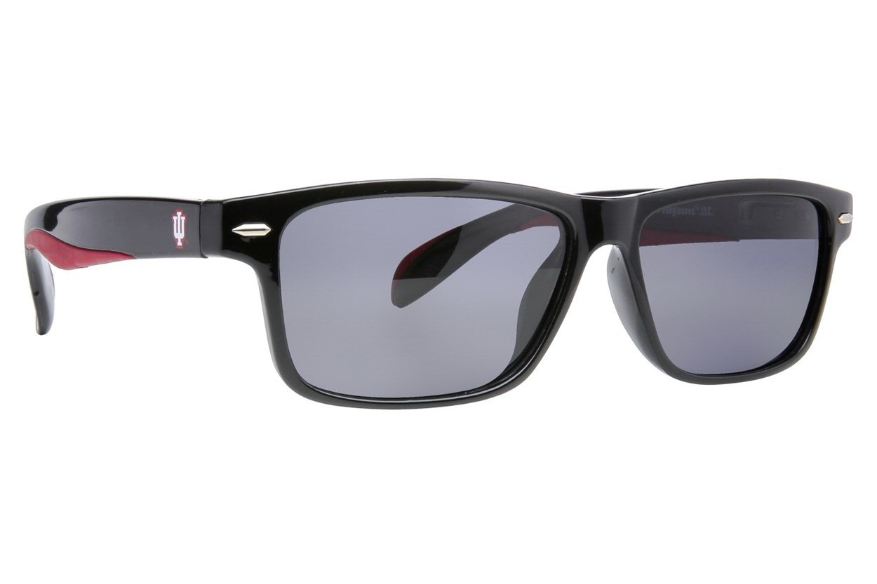 NCAA Indiana Hoosiers Preppy Sunglasses - Black