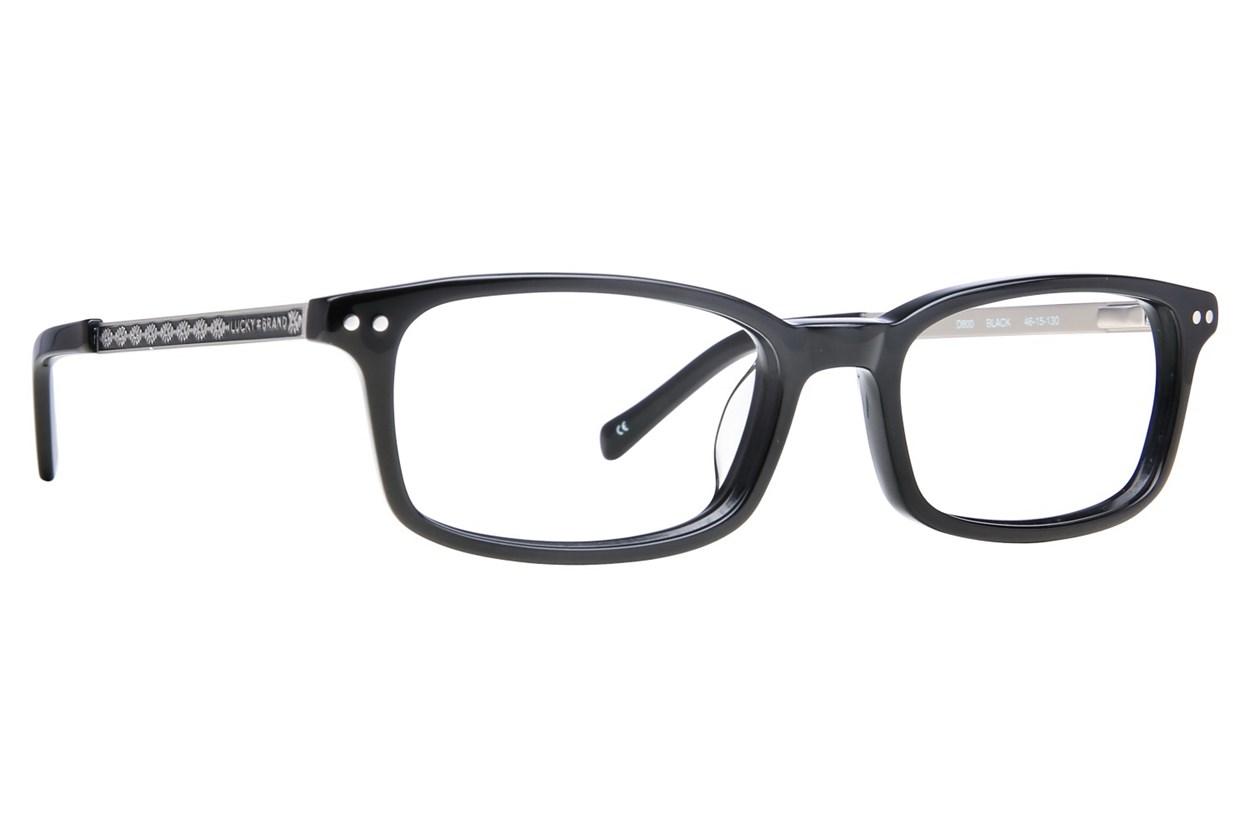 Lucky D800 Black Glasses