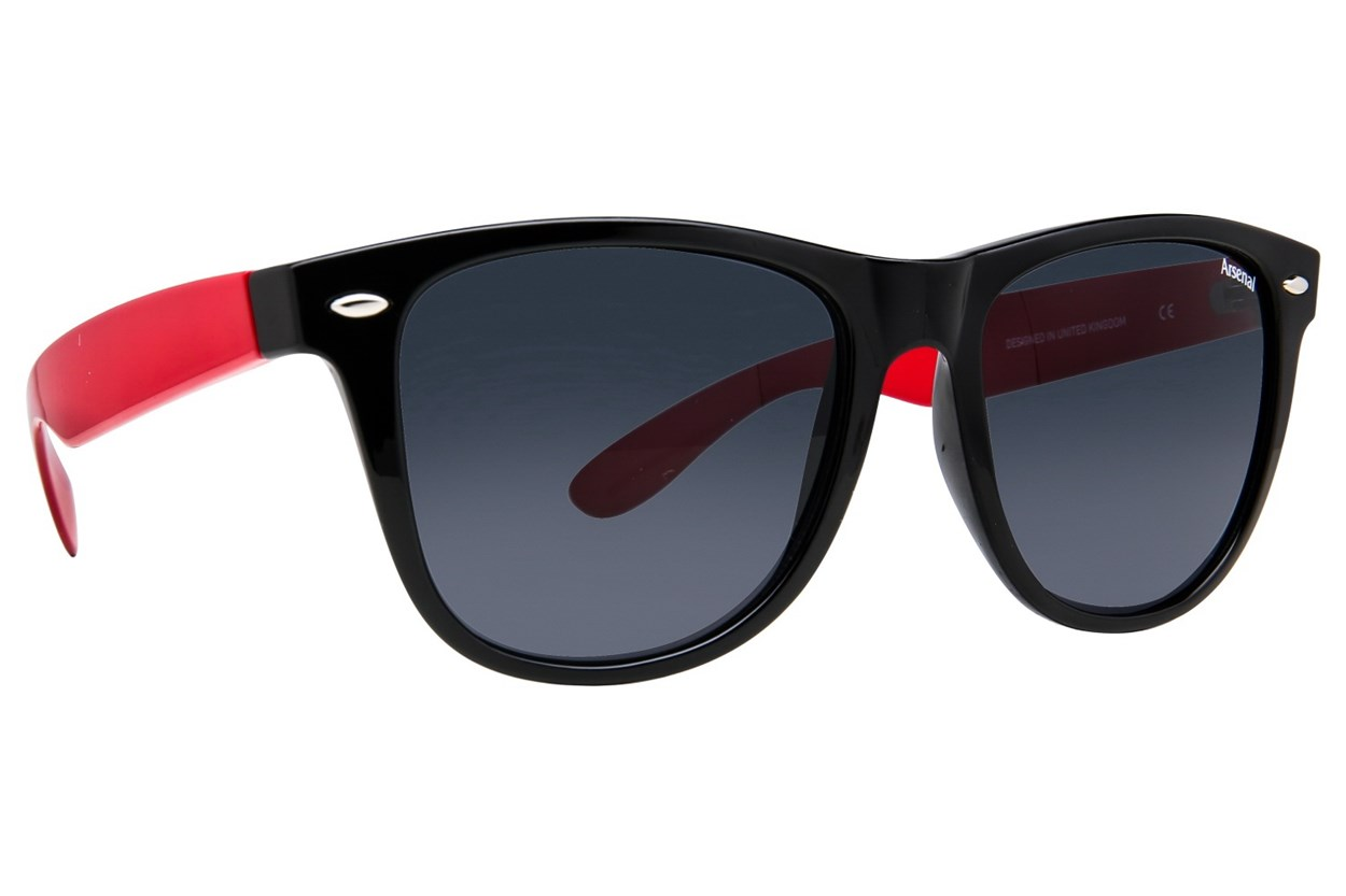 Fan Frames Arsenal FC- Retro Sunglasses - Black