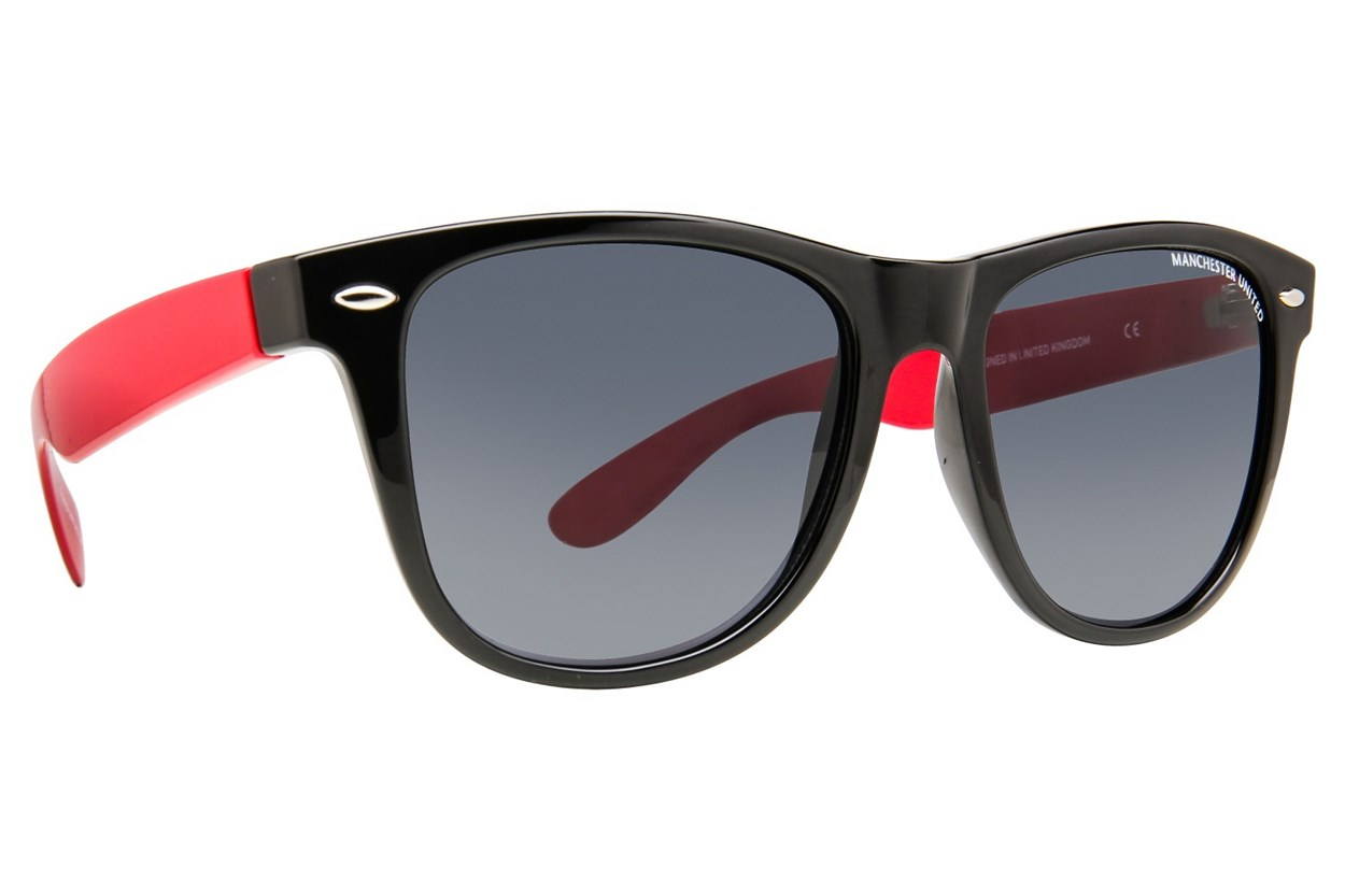 Fan Frames Manchester United FC - Retro Black Sunglasses