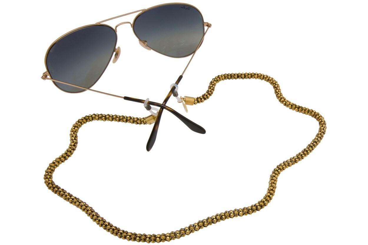 Sintillia Glow Chain Strap Gold GlassesChainsStraps