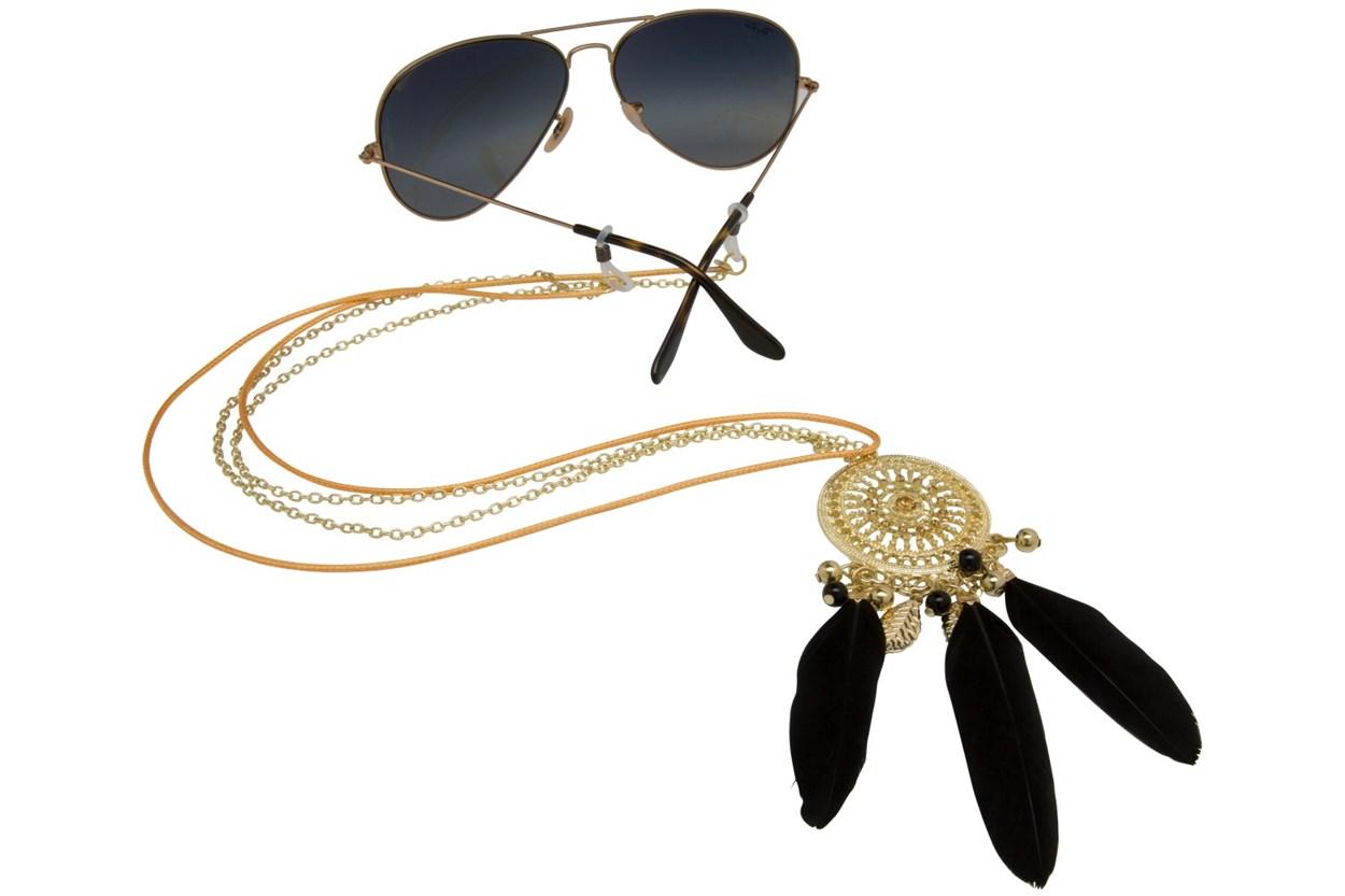 Sintillia Dreamcatcher Strap Black GlassesChainsStraps