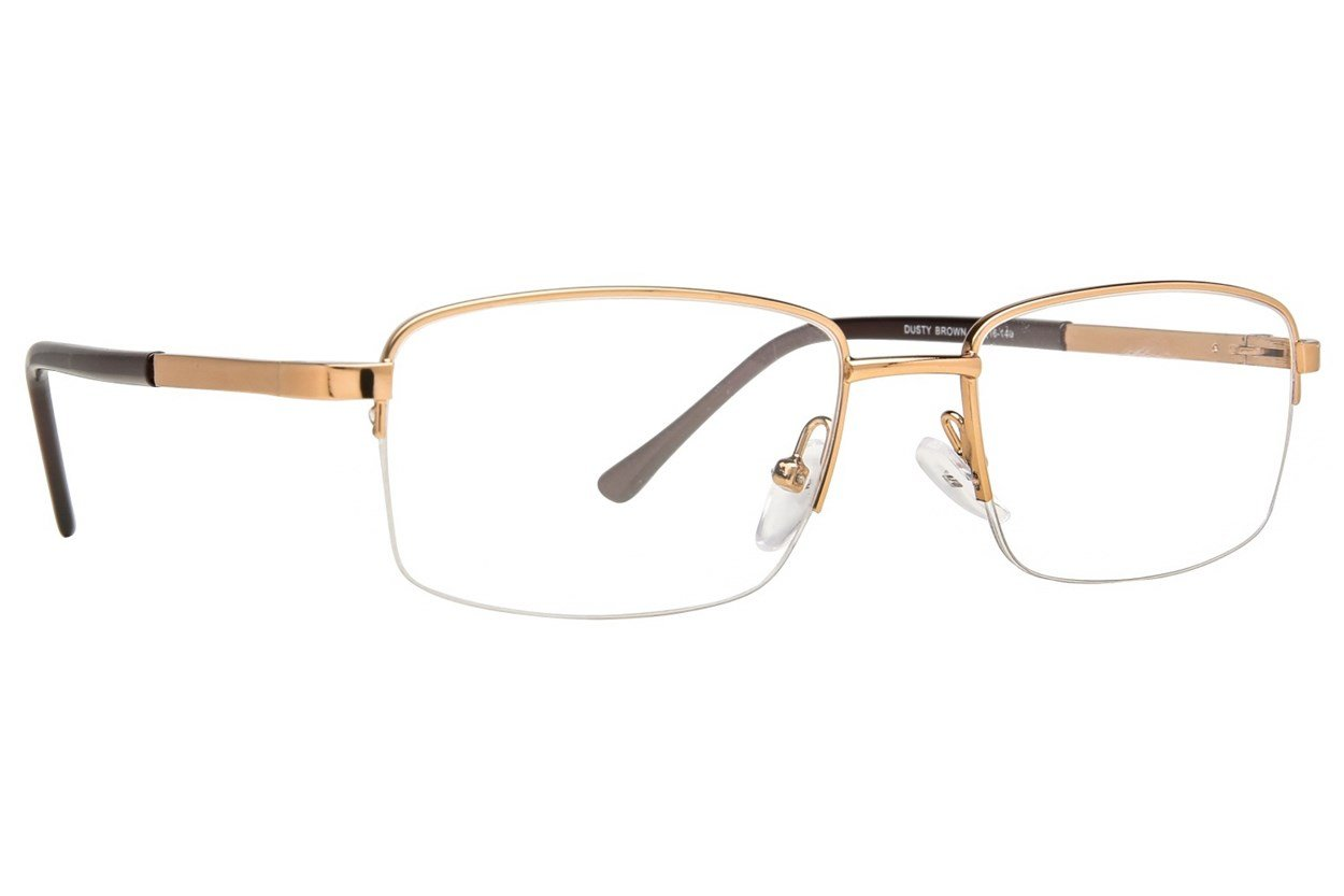 Affordable Designs Dusty Gold Glasses