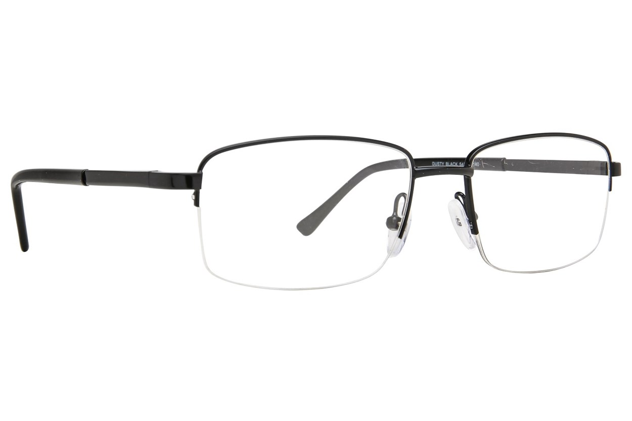 Affordable Designs Dusty Black Glasses