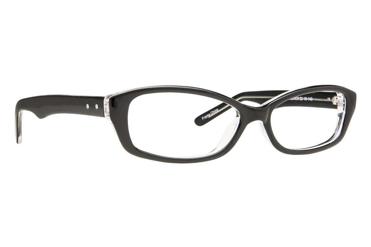 Affordable Designs Jean Black Glasses