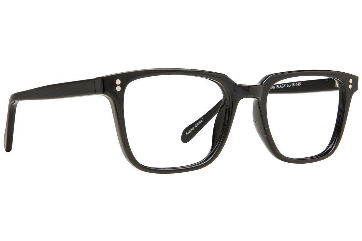 Affordable Designs Dan Black Glasses