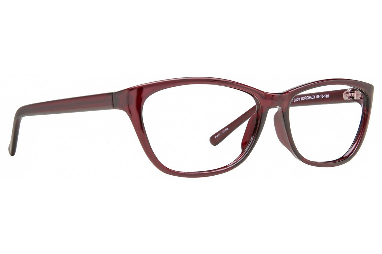 Affordable Designs First Lady Purple Glasses