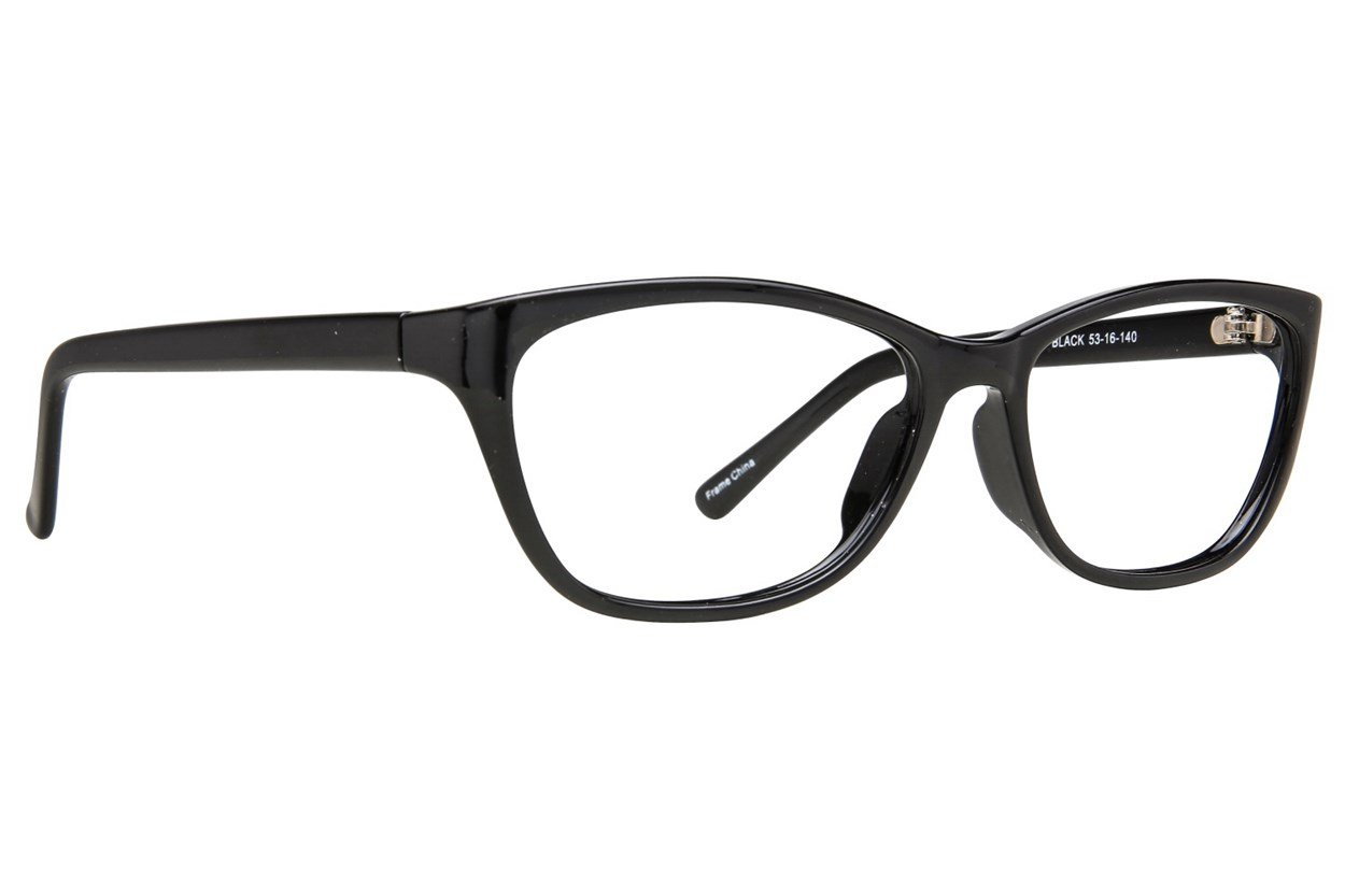 Affordable Designs First Lady Eyeglasses - Black