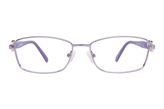Eight To Eighty Eyewear Irene Purple Glasses