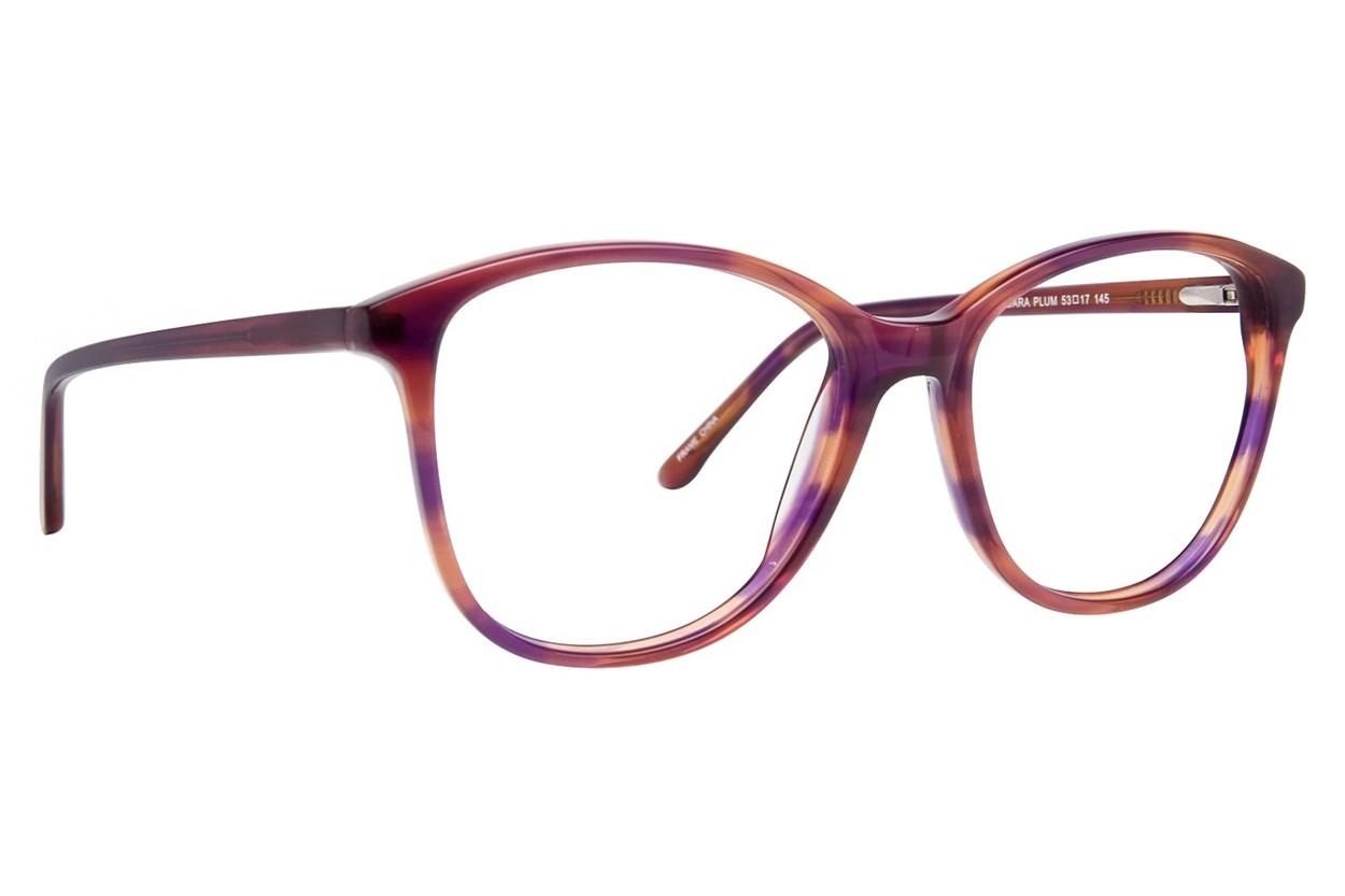 Serafina Barbara Purple Glasses