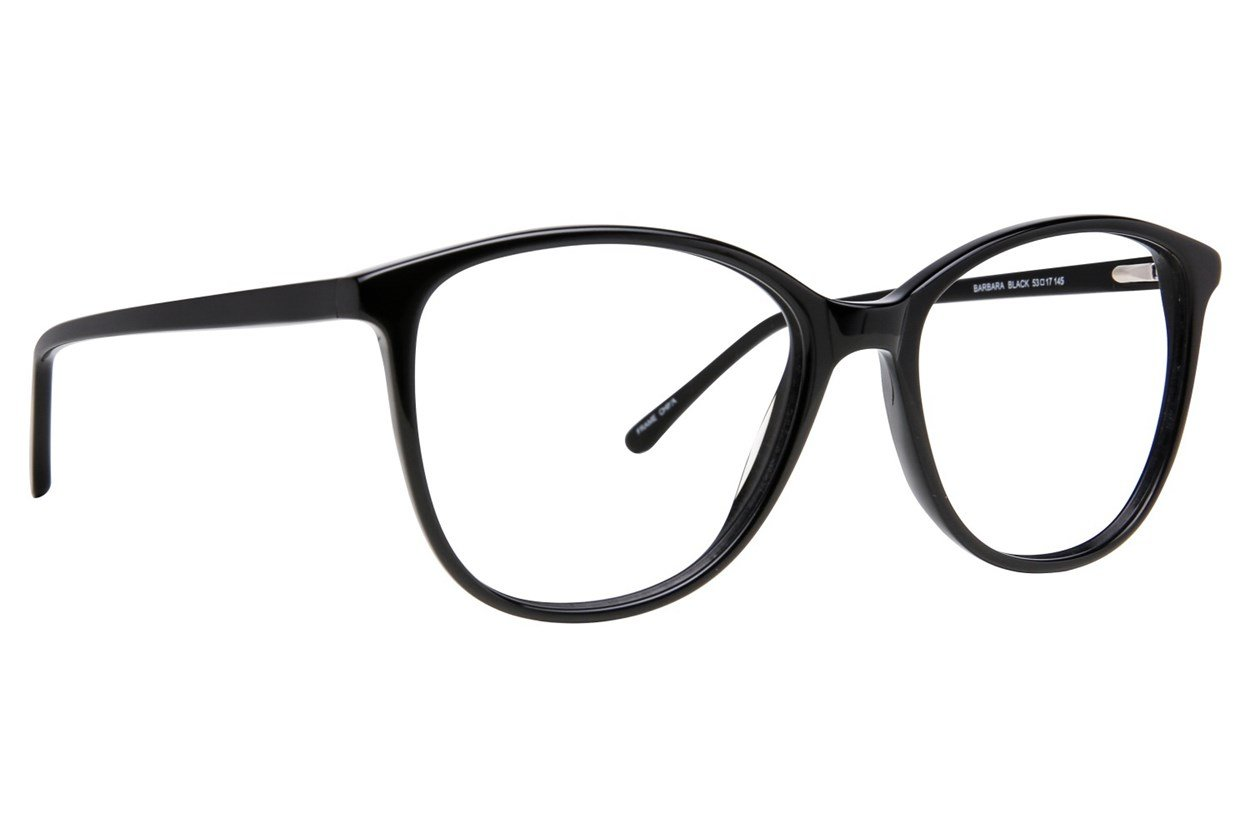 Serafina Barbara Black Glasses
