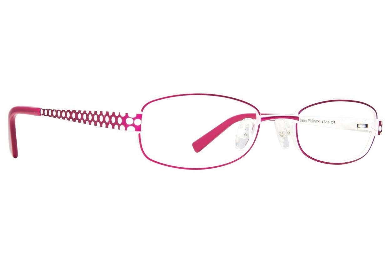 Picklez Daisy Purple Glasses